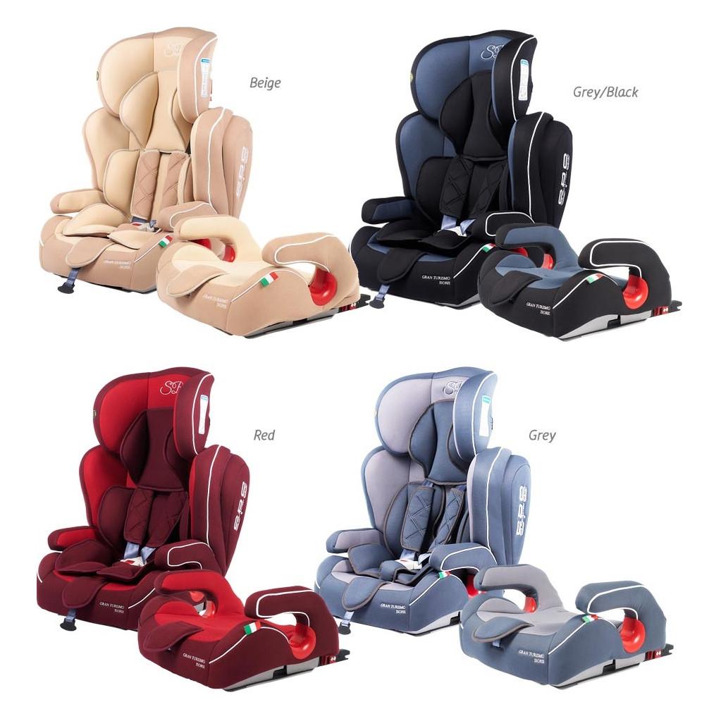 Sweet Baby Gran Turismo SPS Isofix - автокресло детское 9-36 кг бежевый
