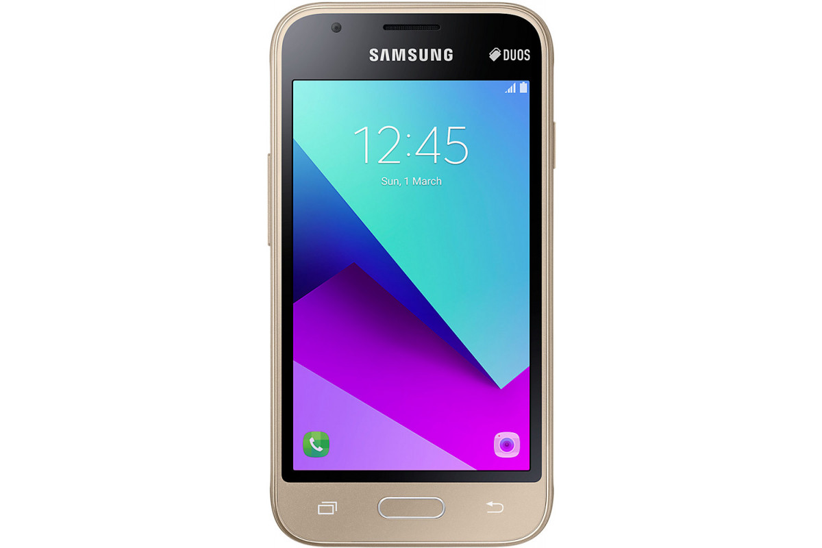 Смартфон Samsung (J106F) Galaxy J1 mini Prime (2016) Duos 8Gb  Gold