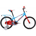 """Велосипед 18"""" Forward Meteor 17-18 г Бирюзовый/Красный Матовый RBKW8LNH1005"""