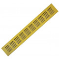 Решетка aлюминиевая Europlast RA640G решетка 60x400mm, золотая