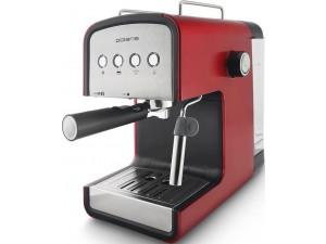 Кофеварка эспрессо Polaris PCM 1516E Adore Crema 850Вт красный