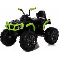 Jetem Электромобиль-квадроцикл 2-х моторный Grizzly Зелёный/чёрный (green/black)