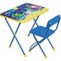 Набор мебели Ника Космос Математика (стол с мягким стульчиком) КП28
