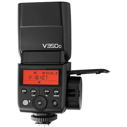 Фотовспышка Godox V350C для Canon TTL