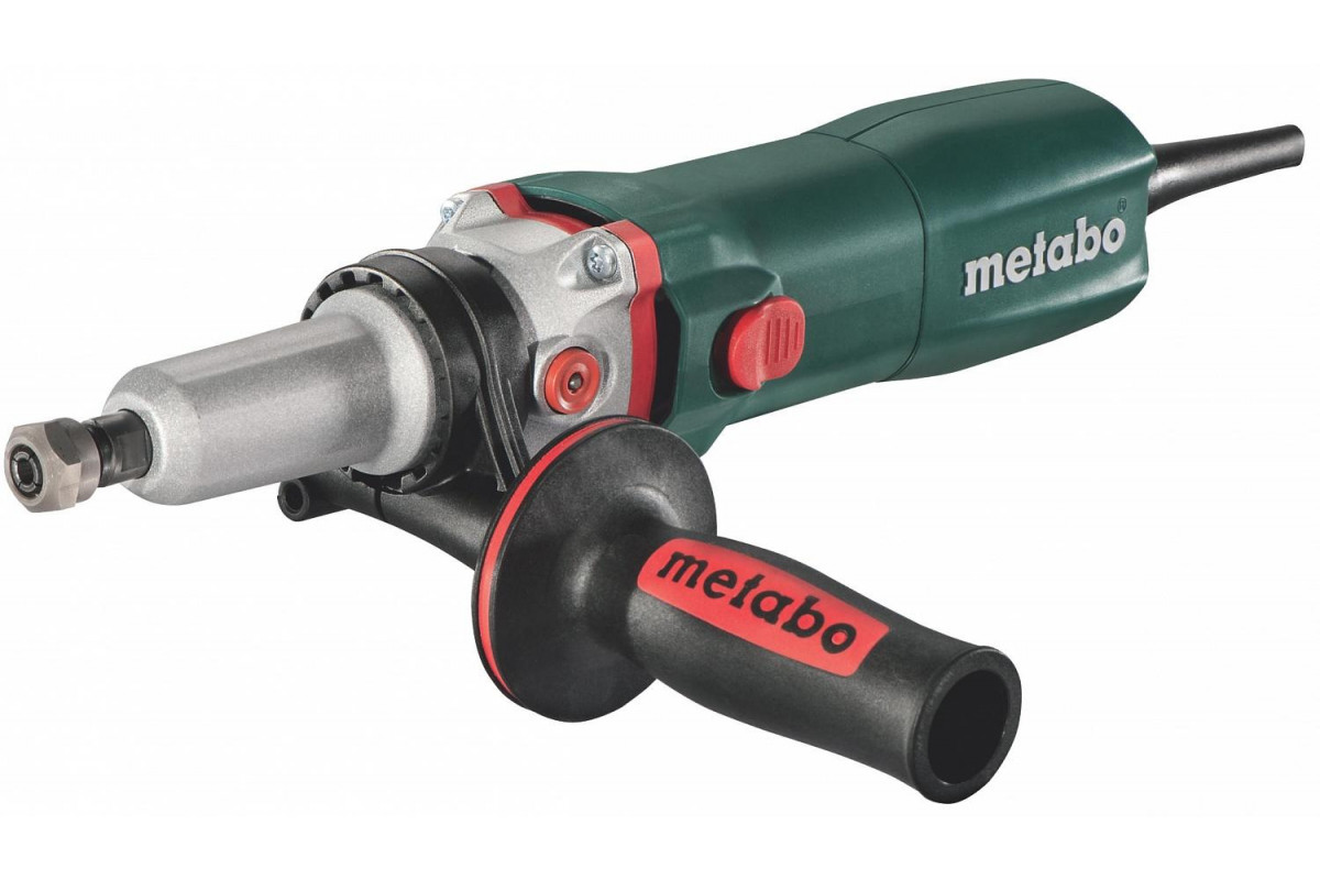 Шлифмашина прямая Metabo GE 950 G PLUS (600618000)  950Вт 2500-8700об/мин 6мм 1.7кг