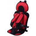 Регулируемое детское автокресло-бустер Mumugongzhu, красный