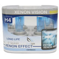 Лампа галогеновая Clearlight H4 XenonVision 2 шт, DUOBOX