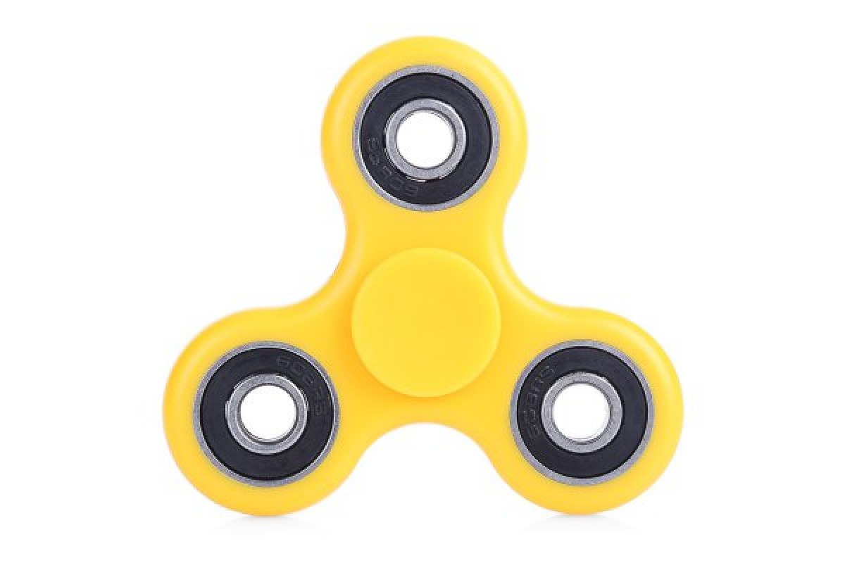 Спиннер Fidget Spinner, желтый