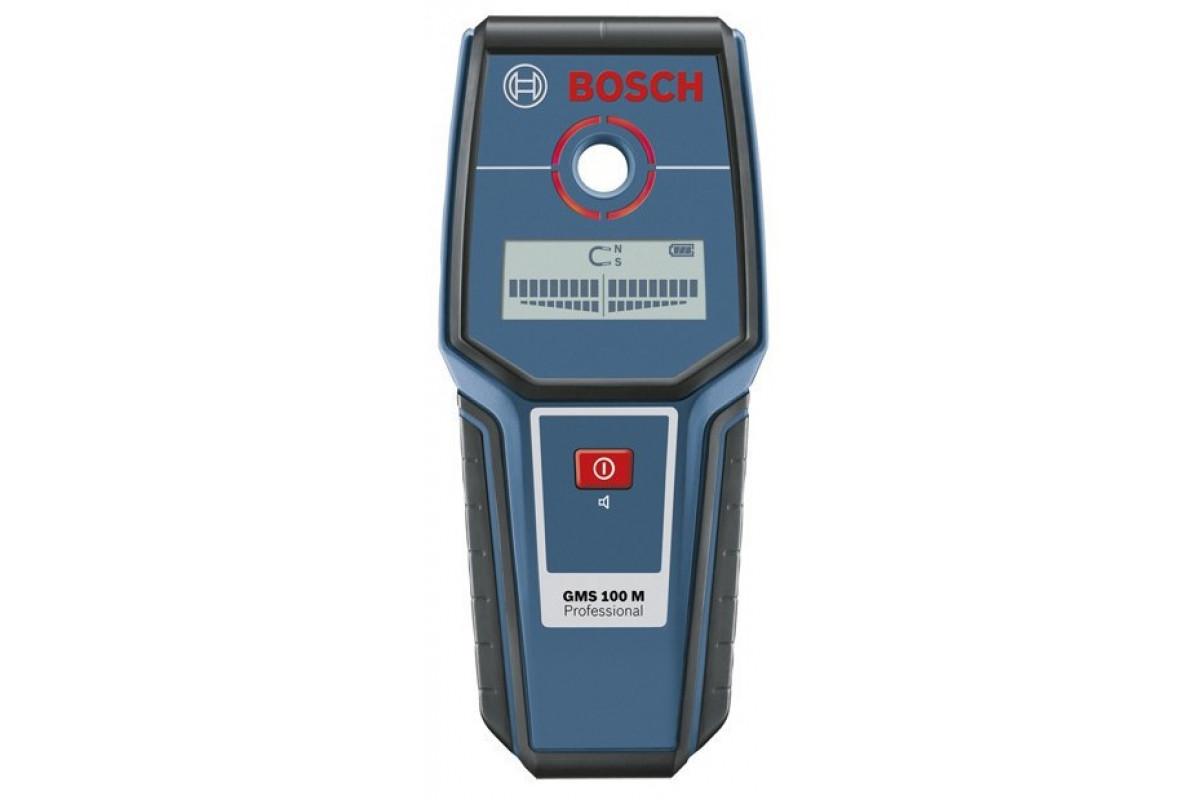 Детектор Bosch GMS 100 M (0.601.081.100)  9В макс.глубина: сталь-100мм, медь-80мм