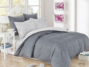 Постельное белье Cleo Satin de Luxe Декор 31/477-SK евро