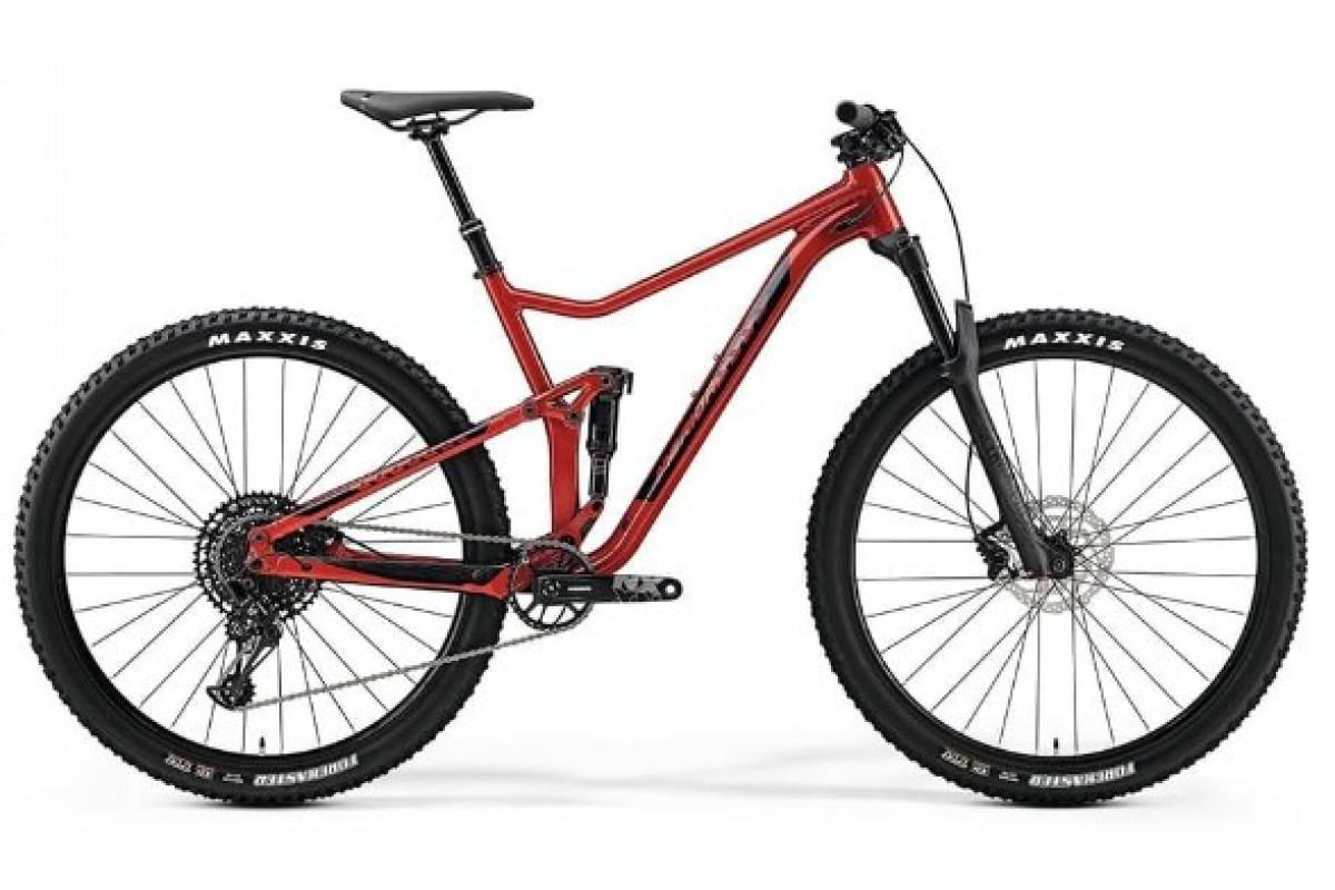 """Велосипед Merida One-Twenty 9.600 Red (Black) 2019 XL(22"""")(89146)"""