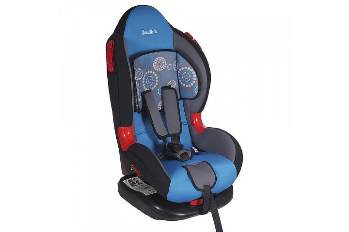 BamBola Navigator - детское автокресло 9-25 кг одуванчик серо-голубой