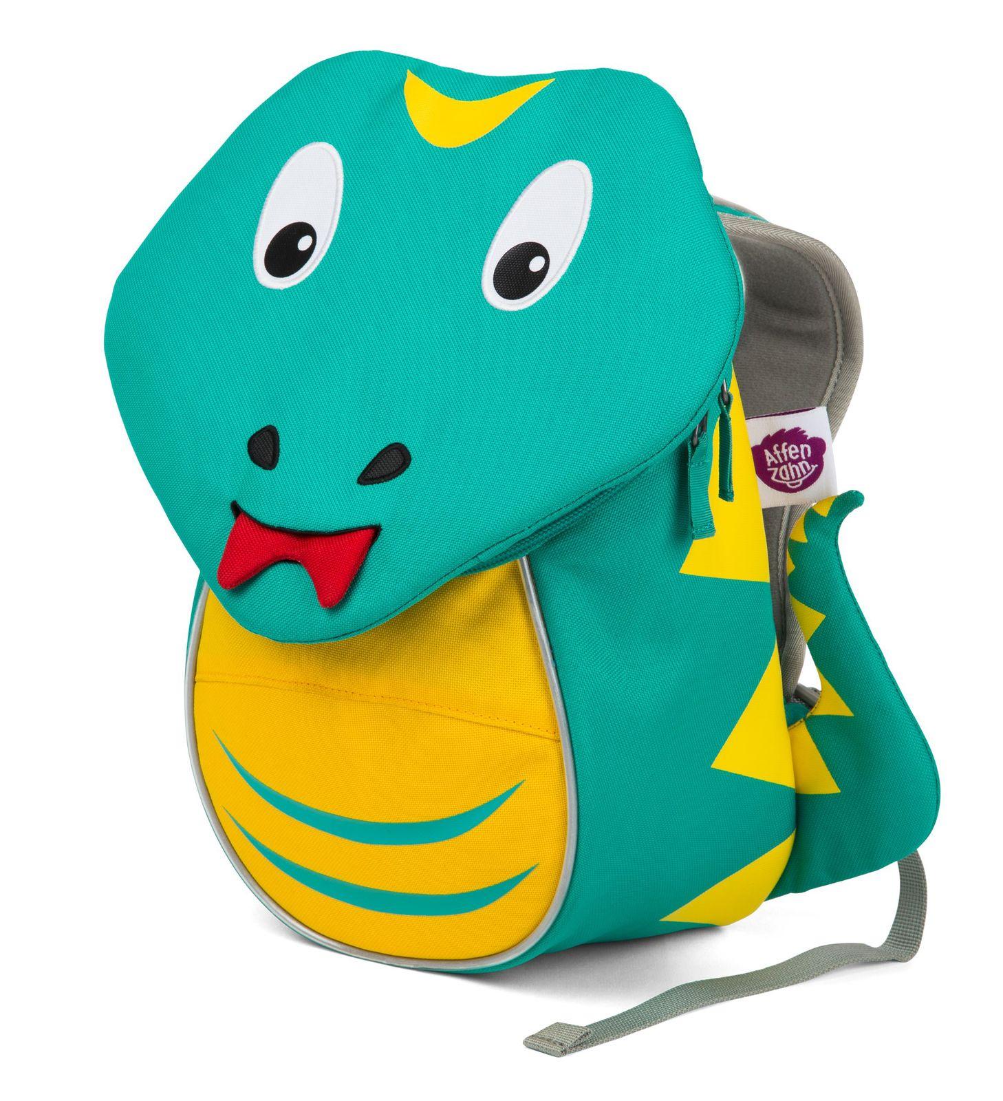 Affenzahn Samuel Snake - рюкзак детский бирюзовый