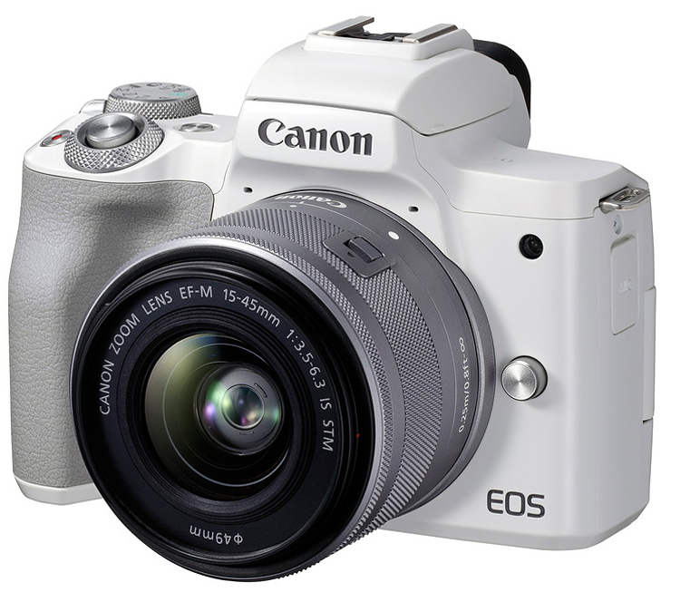 Canon EOS M50 Mark II kit EF-M 15-45mm f/3.5-6.3 IS STM белый