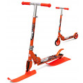 Small Rider Combo Runner 145 (оранжевый) - Самокат-снегокат с лыжами и колесами
