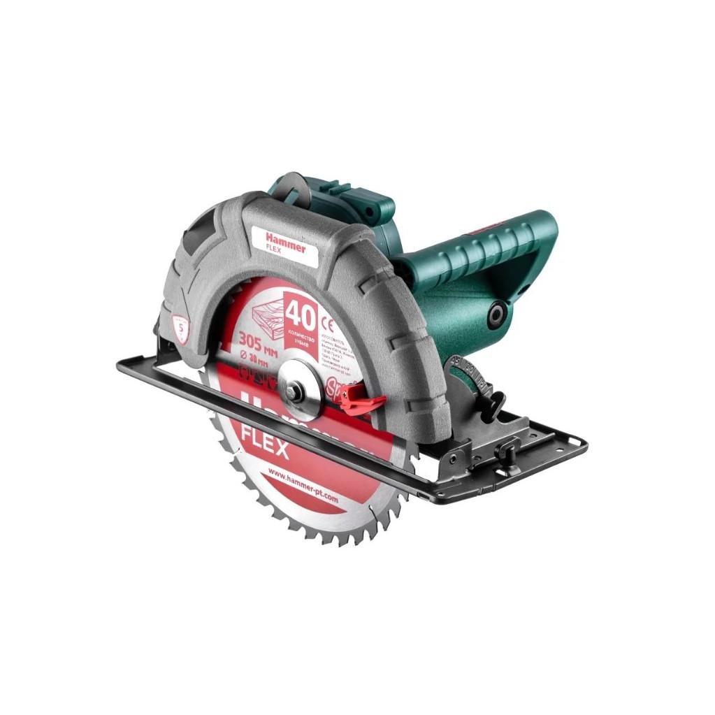 Пила циркулярная Hammer Flex CRP2400/305 2400Вт