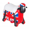 Saipo Каталка-чемодан Овечка Британский Флаг
