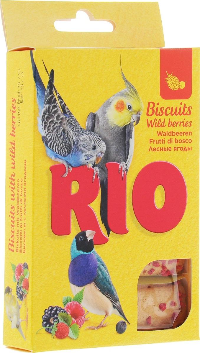 Бисквиты для птиц с полезными семенами RIO, 5 шт.*7 г