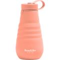 Бутылка складная RoadLike Mojo 500мл, коралл
