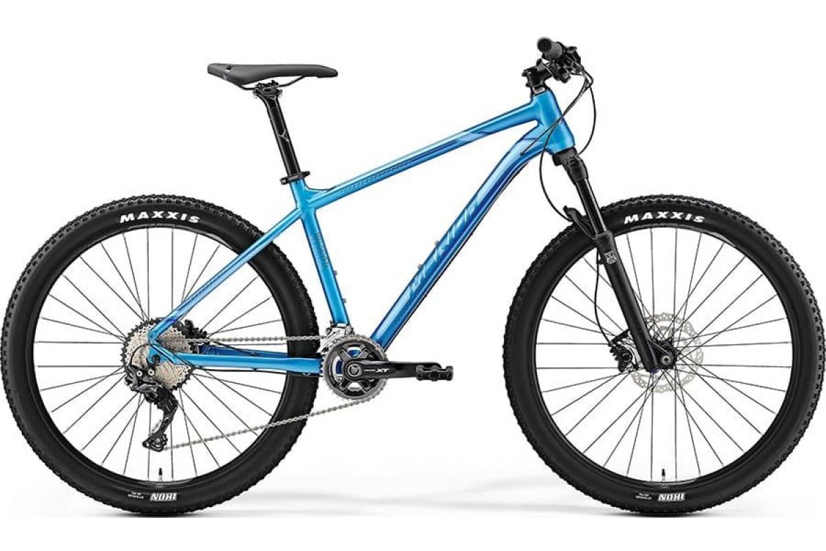 "Велосипед Merida Big Seven XT Edition Silk Sea Blue (Silver/Dark Blue) M(17"")(75481)"