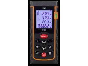 Дальномер лазерный RGK D60  дальность 60м точность ±1.5мм