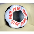 Подушка декоративная Худжанд круглая с фотопечатью Футбольный мяч