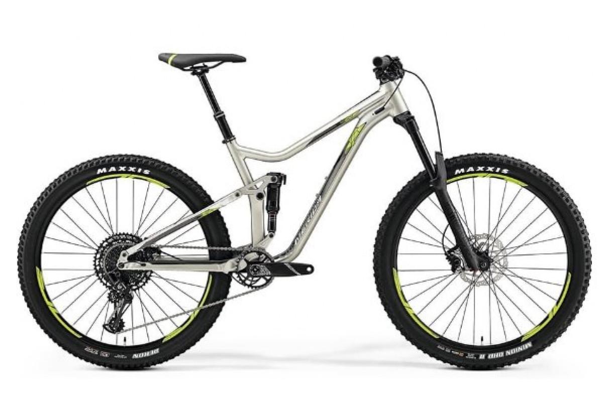 "Велосипед Merida One-Forty 600 Silk Titan (Green) 2019 L(19"")(88758)"