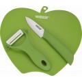Кухонный набор Vitesse VS-8132 Зелен 3 предмета