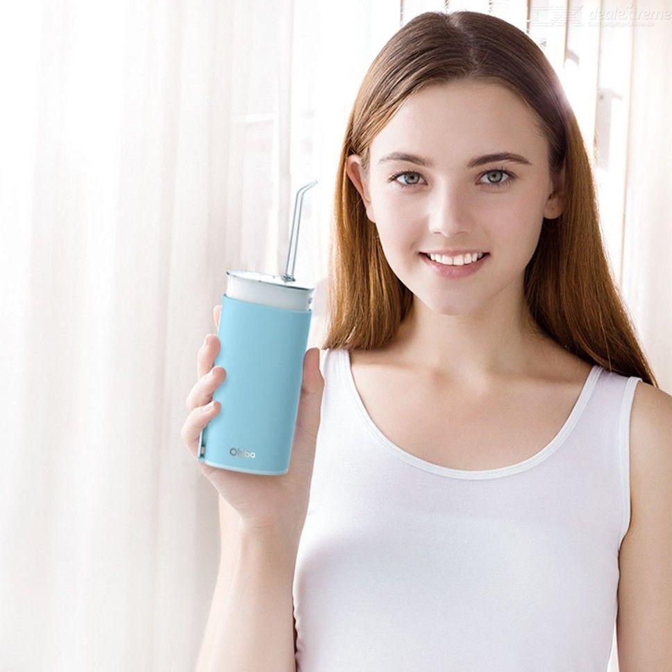 Ирригатор Xiaomi Olybo Telescopic Portable Teeth Cleaner Day Lake WL8, голубой