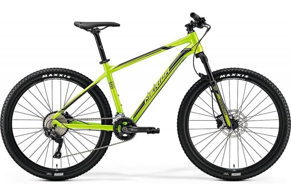"Велосипед Merida Big Seven 500 Green/Black 2019 L(19"")(72585)"