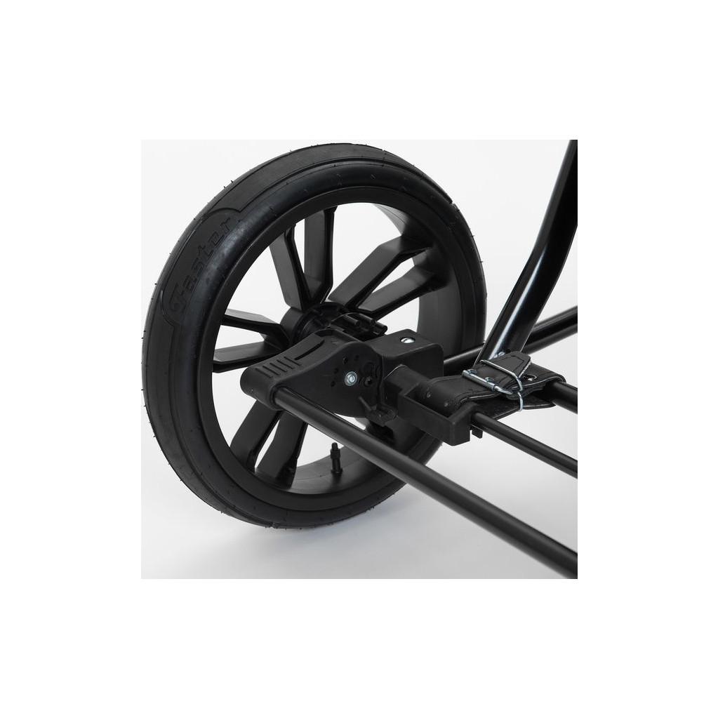 Mr Sandman коляска-люлька Rustle 100% Эко кожа Черный