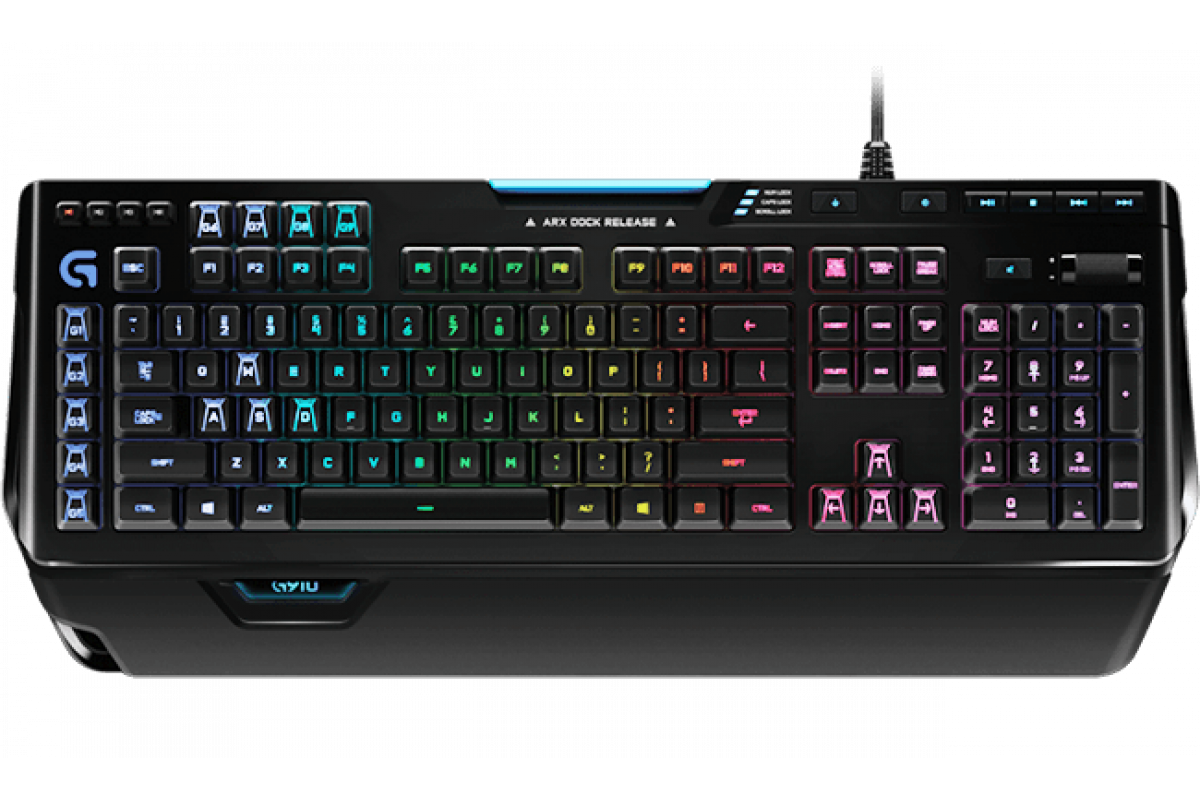 Клавиатура Logitech G910 Orion Spectrum RGB черный, 920-008019