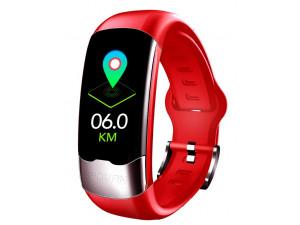 Фитнес браслет Bakeey H02, красный