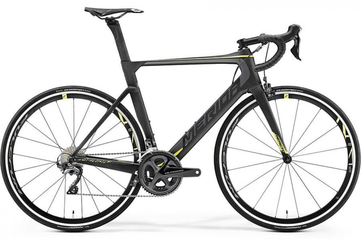 Велосипед Merida REACTO 6000 MattCarbonUD (Yellow) 2019 ML(54см)(70602)