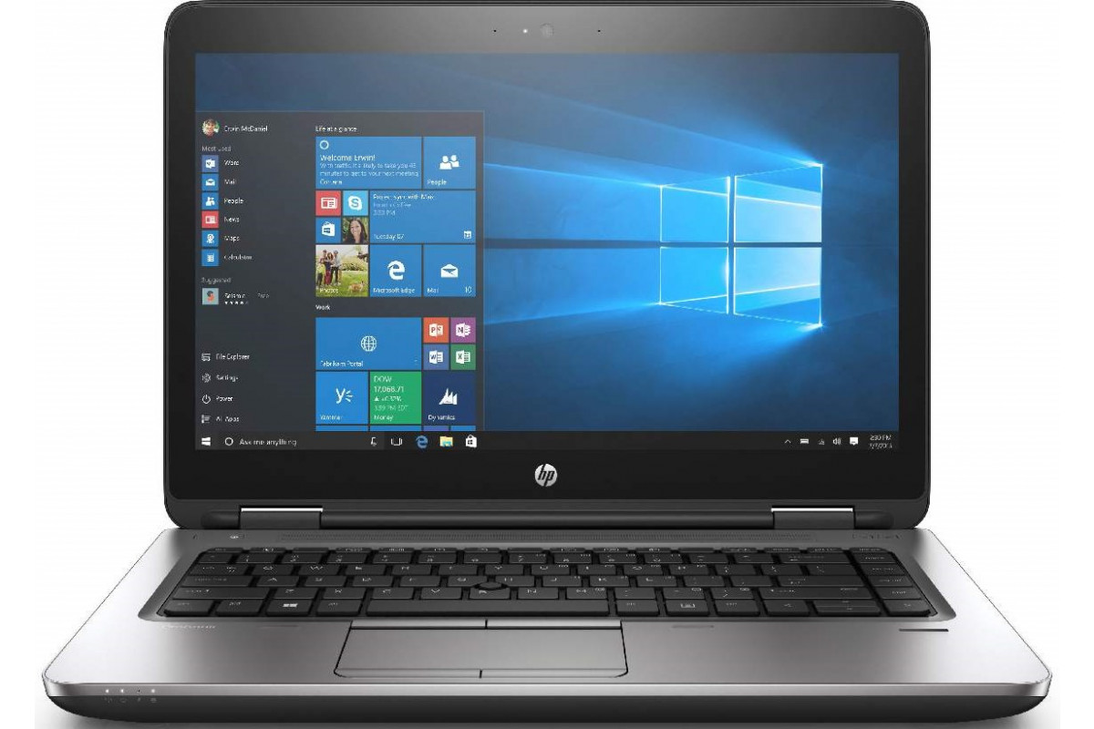 "Ноутбук HP ProBook 640 G3 14""(Intel Core i5 7200U/4096Mb/500Gb/DVDRW/Intel HD Graphics 620/Win10Pro) silver-black"