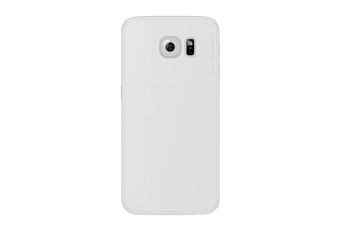Чехол для смартфона Samsung Galaxy S6 Deppa Sky Case Transparent