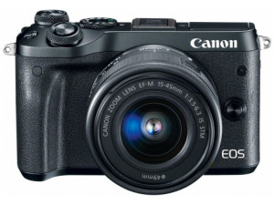 Canon EOS M6 kit EF-M 15-45mm f/3.5-6.3 IS STM черный