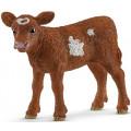 Фигурка Schleich Техасский Лонгхорн теленок 13881