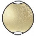 Отражатель Falcon Eyes CFR-22M HL золото/серебро в полоску 56см