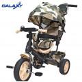 Galaxy RT Лучик VIVAT - трехколесный велосипед-коляска Милитари