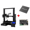 3D принтер Creality 3D Ender-3Xs с платформой со стеклянной пластиной и тихой материнской платой, оранжевый