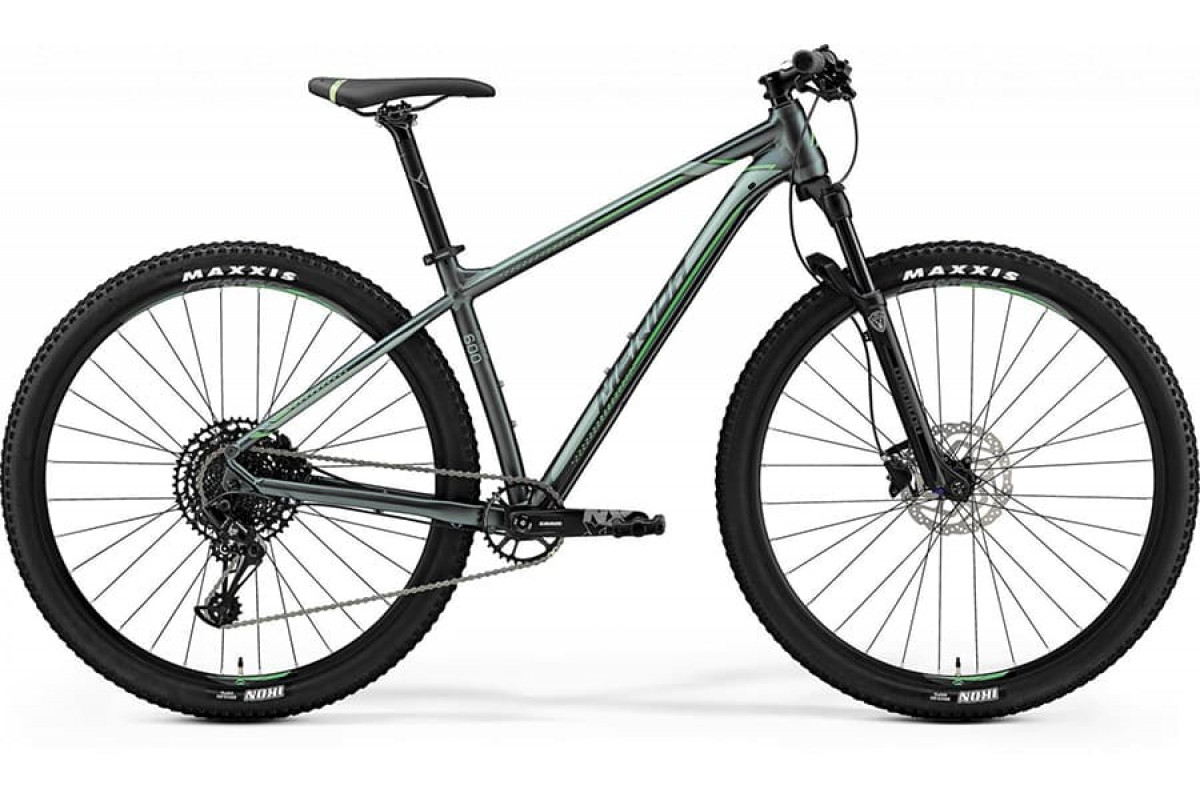 "Велосипед Merida Big Nine 600 Silk Dark Green (Neon Green) 2019 L(18,5"")(90239)"