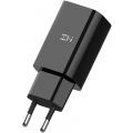 СЗУ адаптер Xiaomi Mi ZMI USB-A 18W QC 3.0  Fast Charge EU (HA612 Black), черный