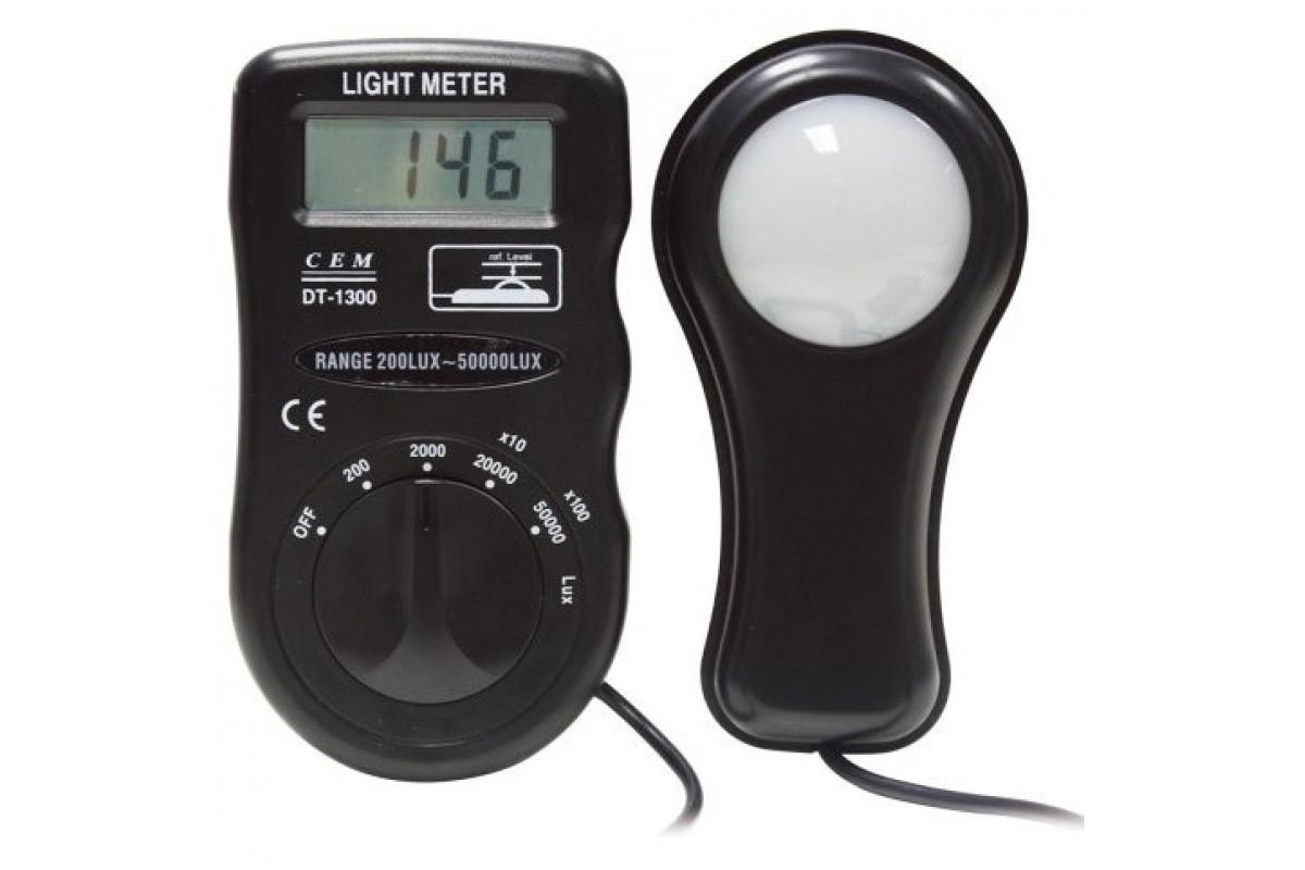 Люксометр  СЕМ DT-1301  измеритель уровня освещения