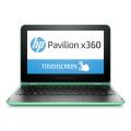 "Ноутбук 11.6"" HP Pavilion 11-k001ur x360 (TouchScreen|Pentium N3700|4Gb|1Tb|W8.1) Green"
