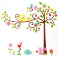 Roommates Дерево с завитками - наклейки для декора