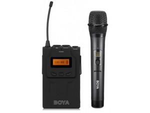 Репортерская беспроводная микрофонная система Boya WM6-K2