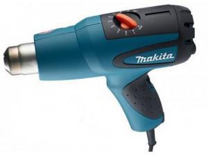 Фен технический Makita HG551V  1800Вт 100-550С 250/550л/мин в кейсе