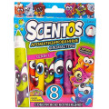 Scentos 8 ароматизированных фломастеров