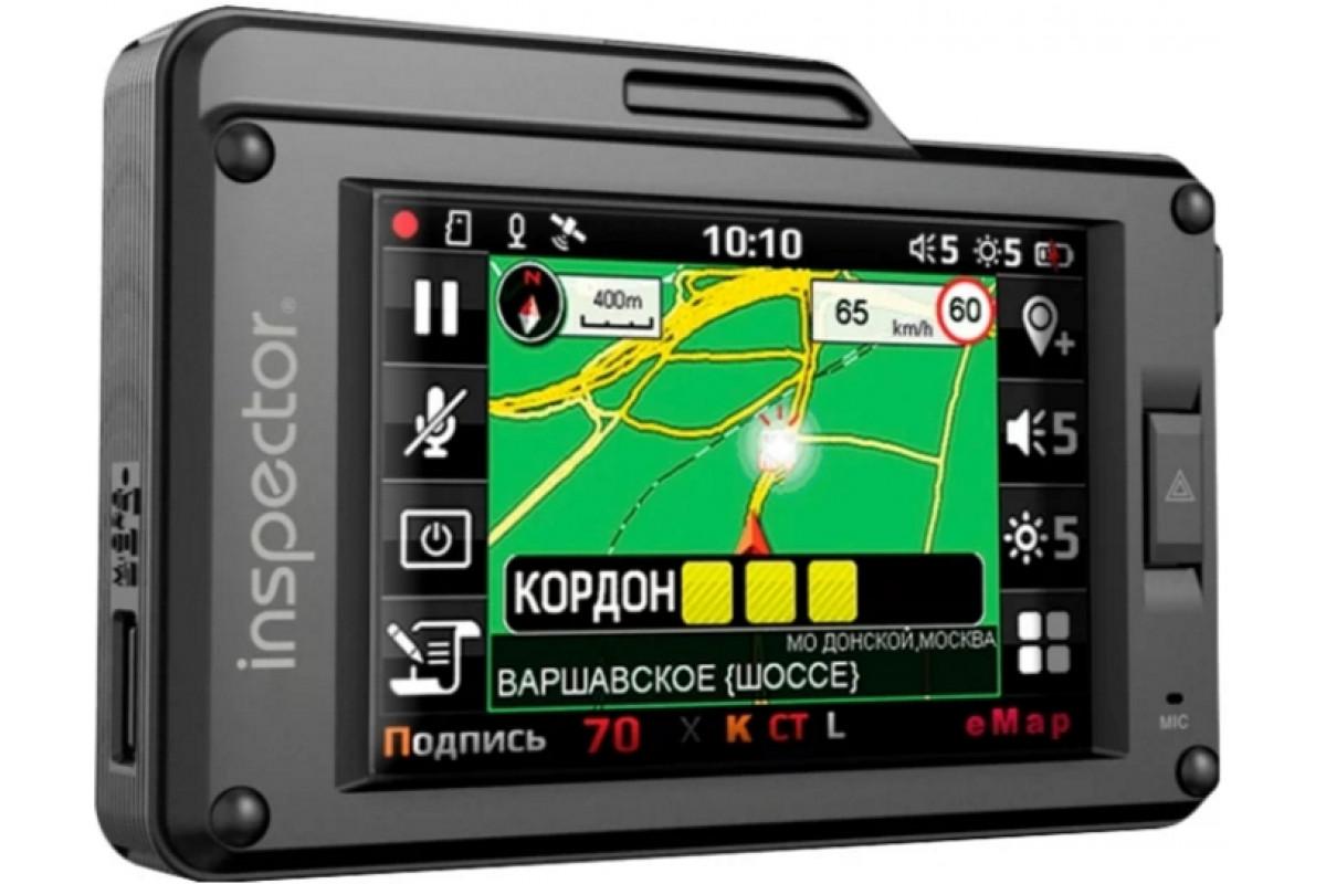 Радар-детектор Inspector SCAT SE Видеорегистратор GPS приемник G-сенсор уценка 0261